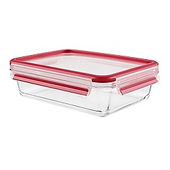 Tefal - 'MasterSeal Glass Fresh' rectangular food storage container 1.3L