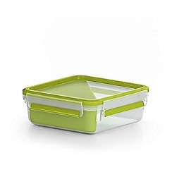 Tefal - 'MasterSeal To Go' square sandwich box 0.85L