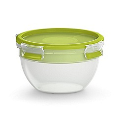 Tefal - 'MasterSeal To Go' round salad bowl 1L