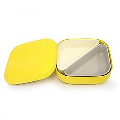 Ekobo - Yellow 'Bento' lunch box