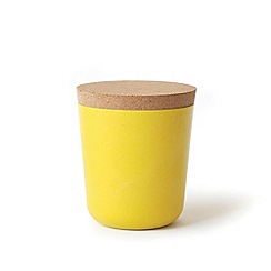 Ekobo - Yellow XL storage jar