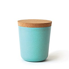 Ekobo - Aqua blue XXL storage jar