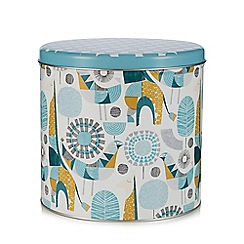 Home Collection - Multi-coloured printed storage jar