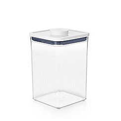 OXO - White 'Pop' big square medium storage container