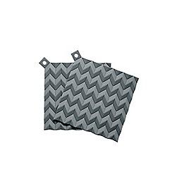 Rig-Tig - Set of 2 dark grey 'Hold-On' pot holders