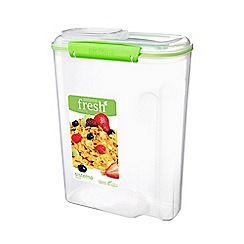 Sistema - Lime Green 'Fresh™' Rectangular Cereal Container