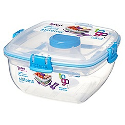 Sistema - 'Salad To Go' lunch box 1.1L