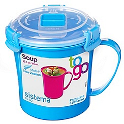 Sistema - 'Soup To Go' lunch box 656ml