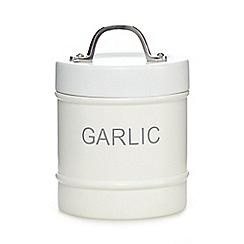 J by Jasper Conran - White garlic jar
