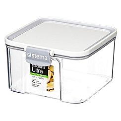 Sistema - Ultra clear tritan square 460ml container