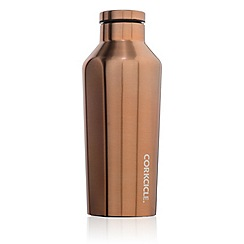 Corkcicle - Gold small stainless steel insulated canteen flask