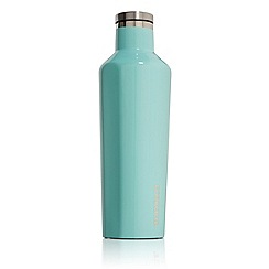 Corkcicle - Turquoise medium stainless steel insulated canteen flask