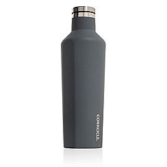 Corkcicle - Grey medium stainless steel insulated canteen flask