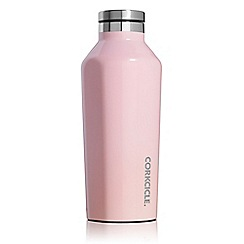 Corkcicle - Light pink stainless steel insulated canteen flask
