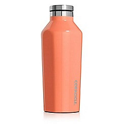 Corkcicle - Peach stainless steel insulated canteen flask