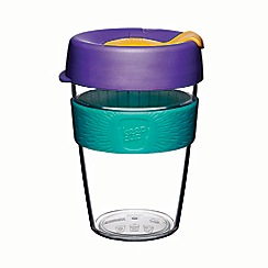 Keep Cup - Blue 'Original - Clear Edition' reef reusable coffee cup 355ml