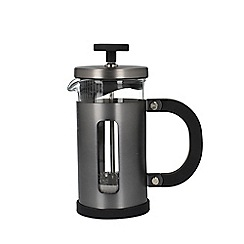 La Cafetiere - Grey Brushed Gun Metal 3 Cup Pisa Cafetiere