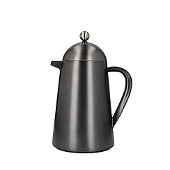 La Cafetiere - Grey Brushed Gun Metal 8 Cup Thermique Cafetiere
