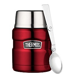 Thermos - Stainless king red 0.47l food flask