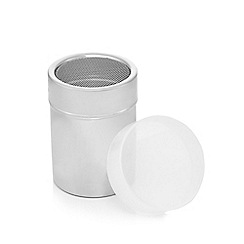 Home Collection - Silver fine mesh shaker