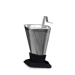 Viva Scandinavia - Black infusion tea strainer grey