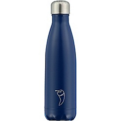 Chilly's - Blue matte reusable bottle 500ml
