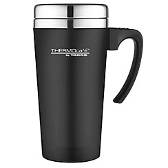 Thermos - Thermocafe black 'Zest' travel mug