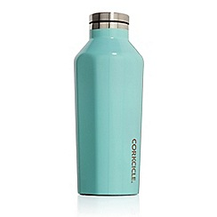 Corkcicle - Small turquoise 'Canteen' thermal flask