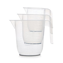 Home Collection Basics - Set of three measuring jugs
