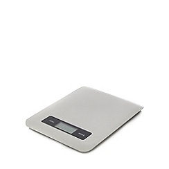 Home Collection - Silver slim line electronic scale