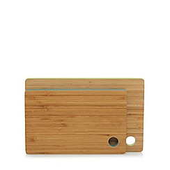 Ben de Lisi Home - Set of two bamboo chopping boards