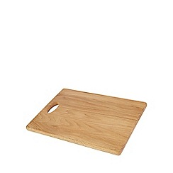 Home Collection - Natural oak chopping board with handle