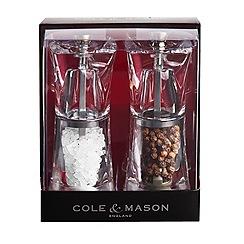Cole & Mason - Crystal Mill Set