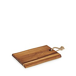 Home Collection - Wood 'Stockholm' acacia small serving board
