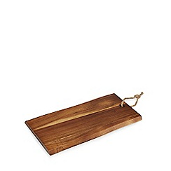 Home Collection - Wood 'Stockholm' acacia large serving board