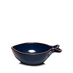 Home Collection - Blue 'Hastings' fish shaped bowl