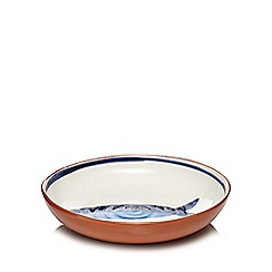 Home Collection - Multi-coloured 'Hastings' fish salad bowl