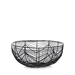 Home Collection - Black Wire Bread Basket