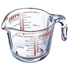 Pyrex - Glass 0.25l measuring jug