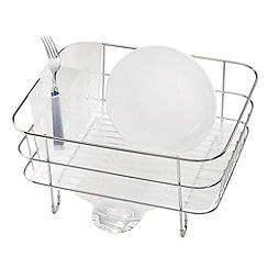 Simplehuman - Compact stainless steel dish rack