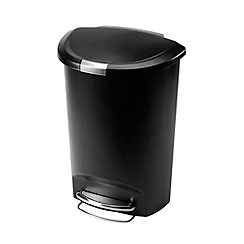 Simplehuman - Black 50L pedal bin