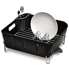 Simplehuman - Compact plastic dish rack