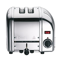 Dualit - Polished Vario 2 slice toaster 20245