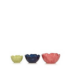At home with Ashley Thomas - Set of three multi-coloured measuring cups