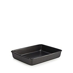 Debenhams - Small heavy gauge steel non-stick large roaster