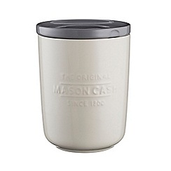 Mason Cash - Cream stoneware 'Innovative Kitchen' small storage jar
