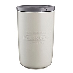 Mason Cash - Cream stoneware 'Innovative Kitchen' large storage jar