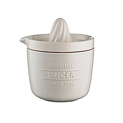 Mason Cash - Cream stoneware 'Innovative Kitchen' juicer and storage jar