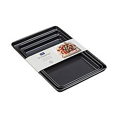 Denby - Set of 3 small, medium and large baking trays