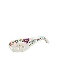Home Collection - Multicoloured 'Lean on me' spoon rest